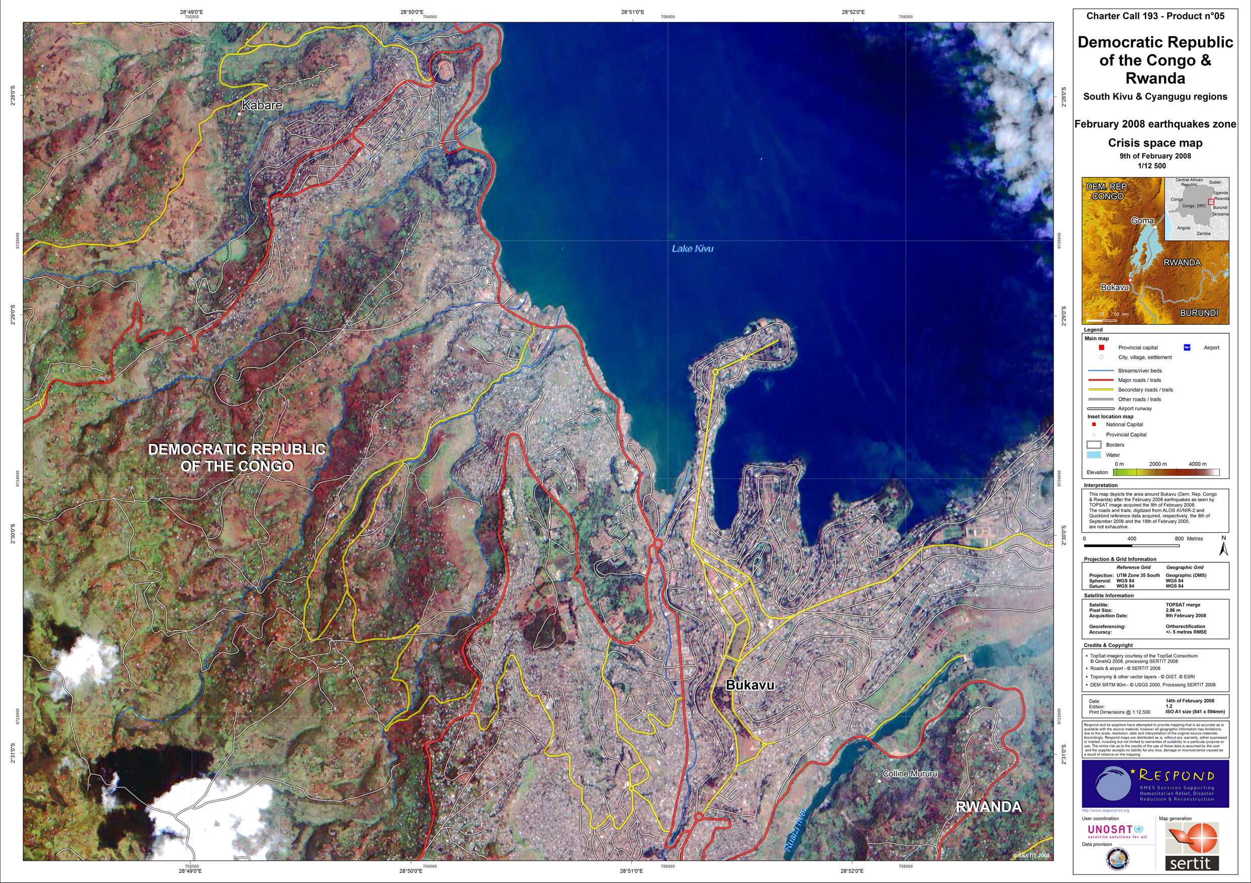 Bukavu very high resolution crisis space map version 12 unitar pdf 33mb static viewing and printing gumiabroncs Images