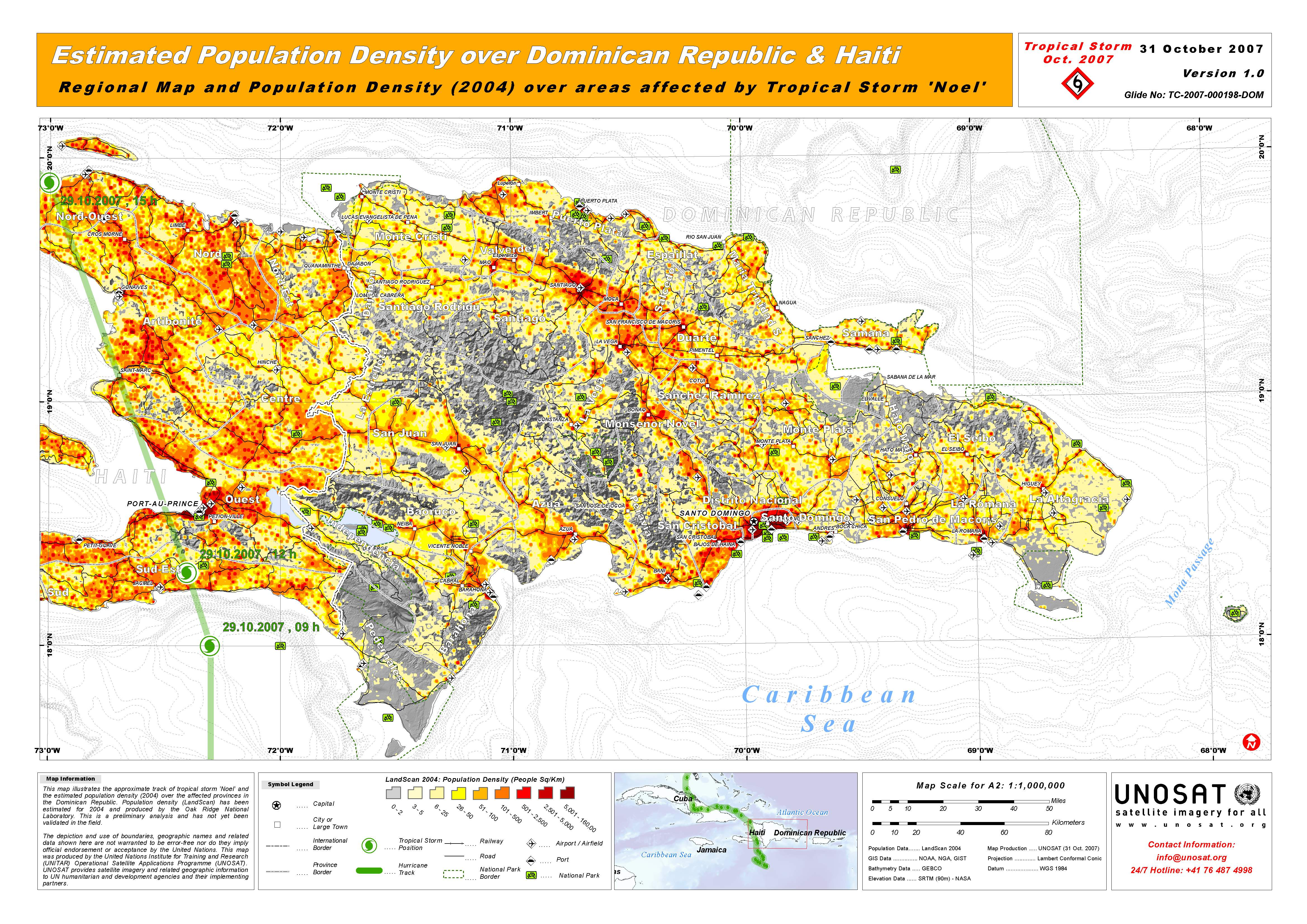 Estimated population density over dominican republic haiti unitar pdf 26mb gumiabroncs Choice Image