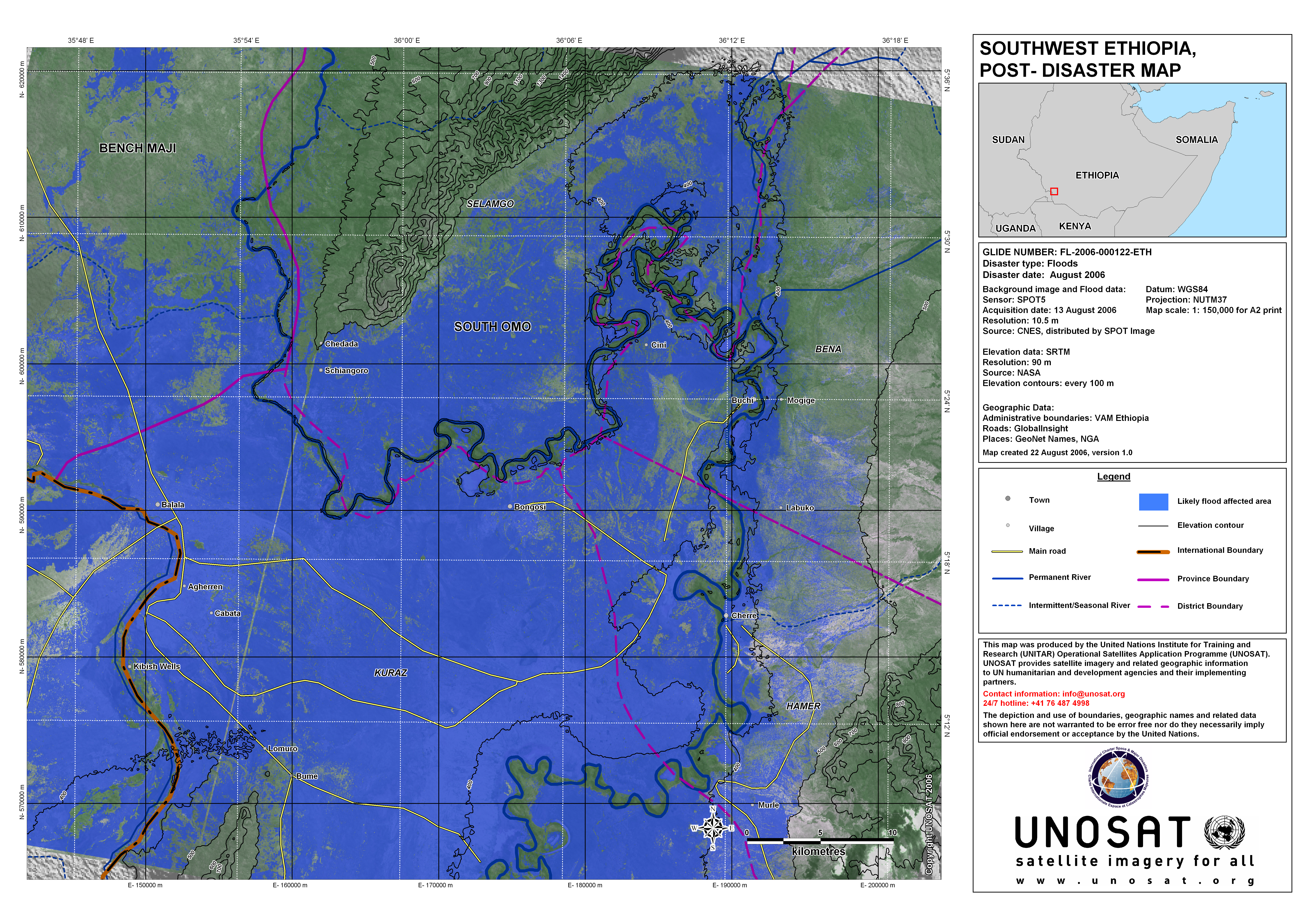 Southwest ethiopia south omo province post disaster map unitar pdf 55mb static viewing and printing gumiabroncs Choice Image