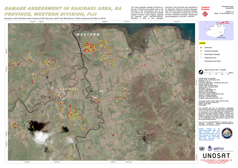 Damage Assessment in Rakiraki Area Ra Province Western Division