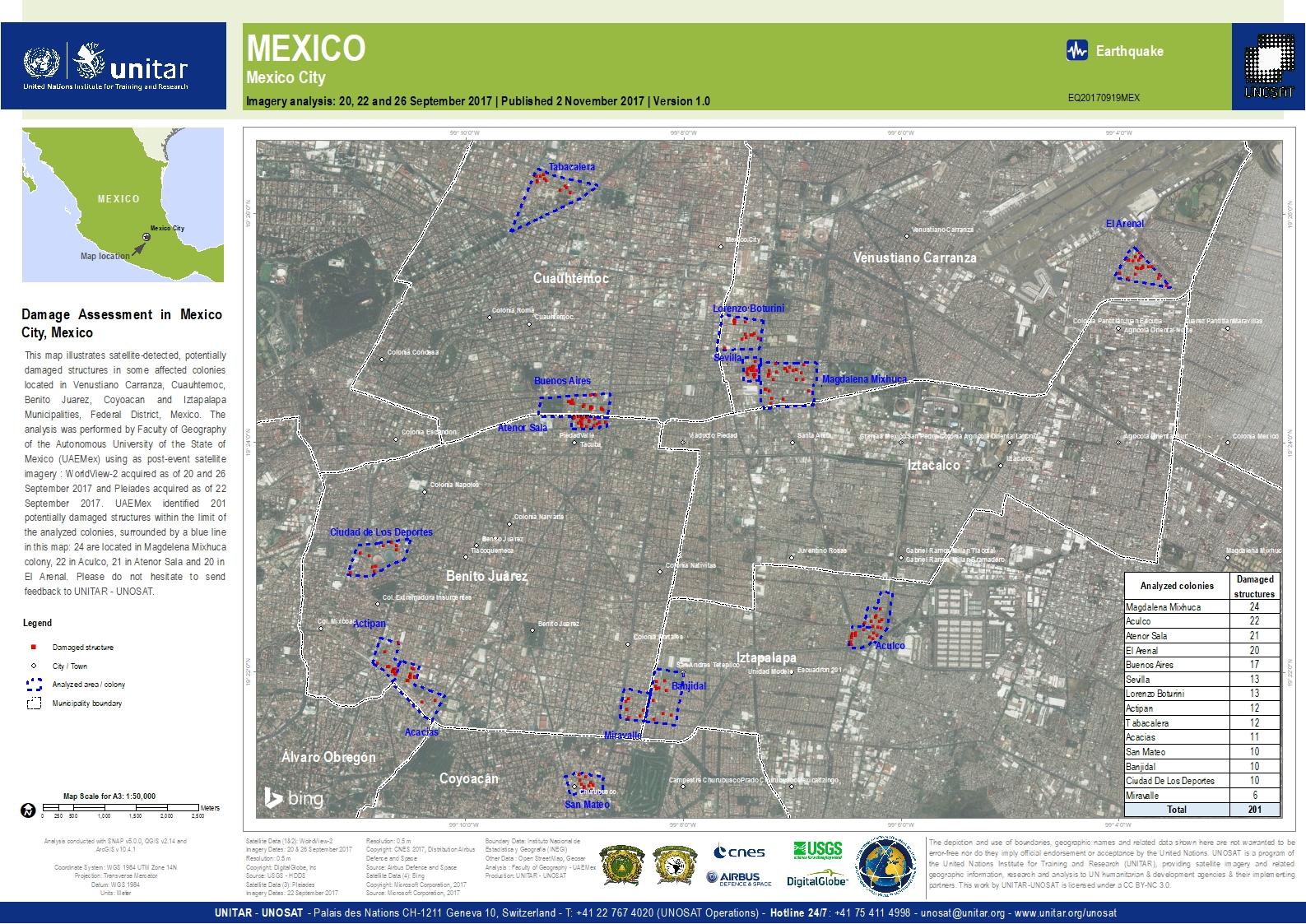 Mexico City Shapefile