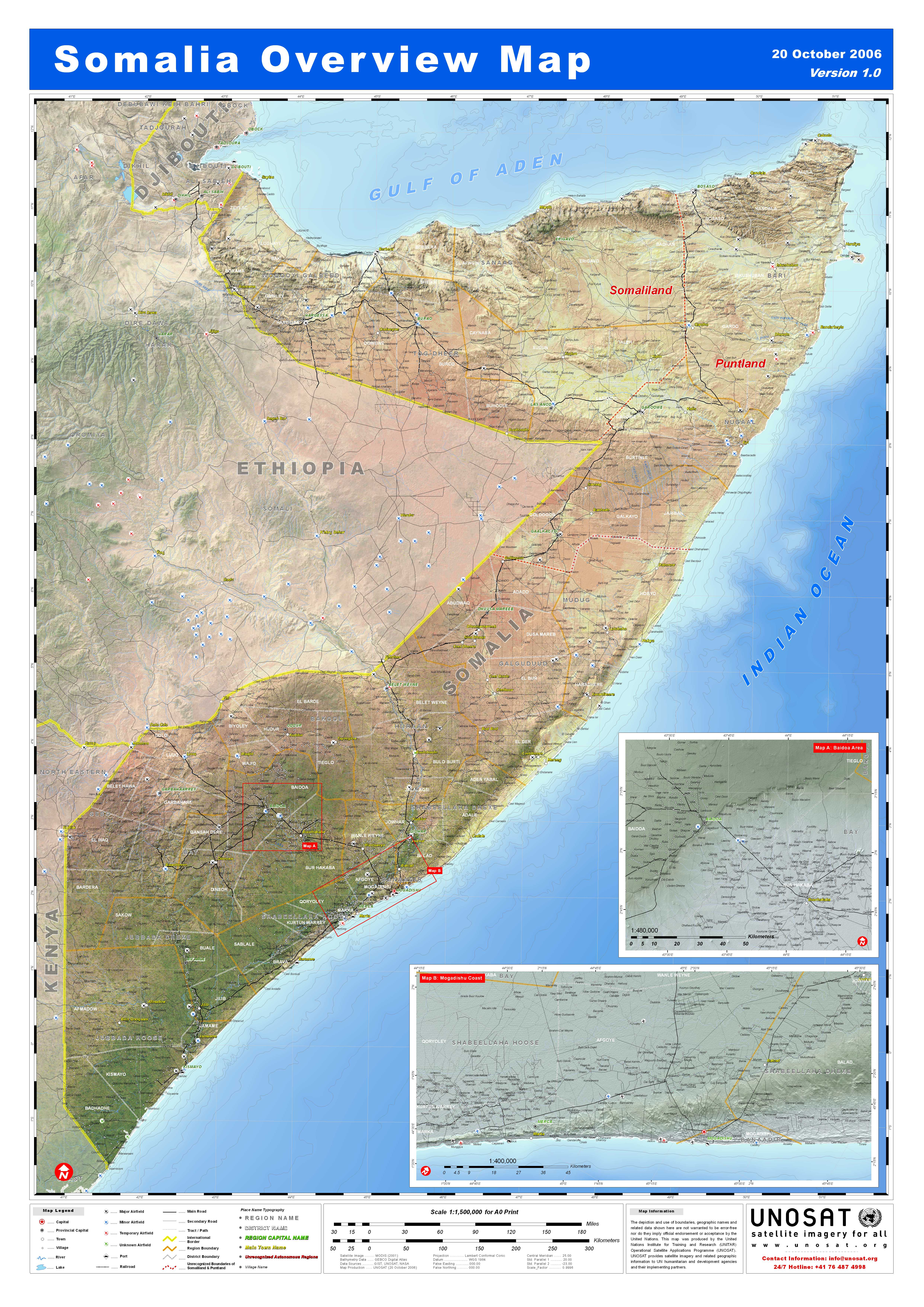 an overview of somalia Brief history home about somalia brief history british somaliland, to the north, gained independent on 26 june 1960.